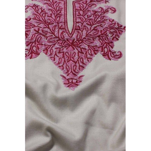 Off White Aari Embroidered suit